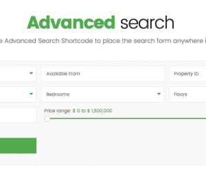 search shortcode